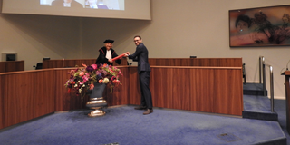 Successful PhD defense Anton Schreuder: cum laude!