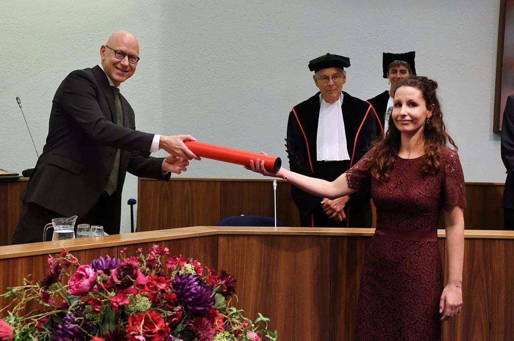 PhD defense Maschenka Balkenhol